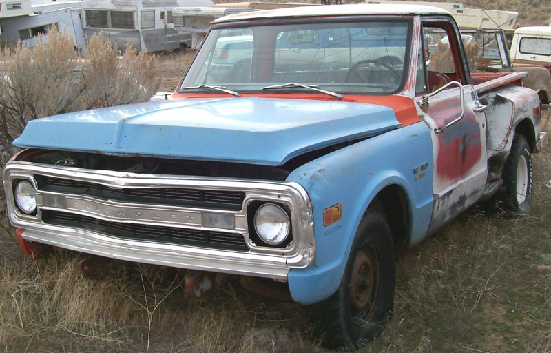 1965 Chevrolet Panel Step Van - Information and photos ...