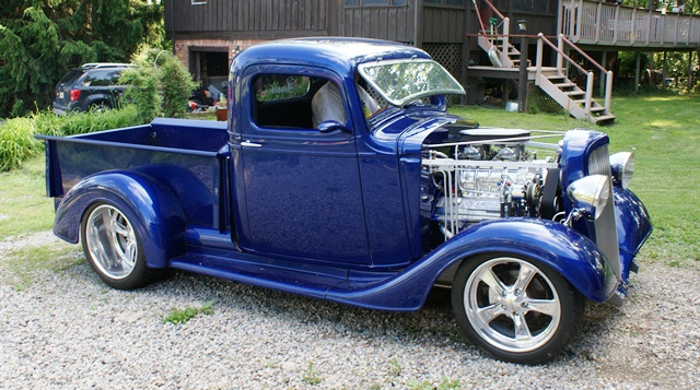 1935 Chevrolet Pickup Information And Photos Momentcar