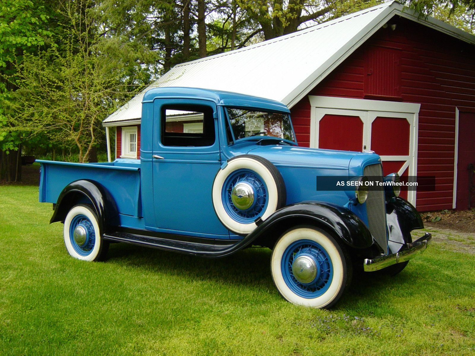 1935 Chevrolet Pickup - Information and photos - MOMENTcar