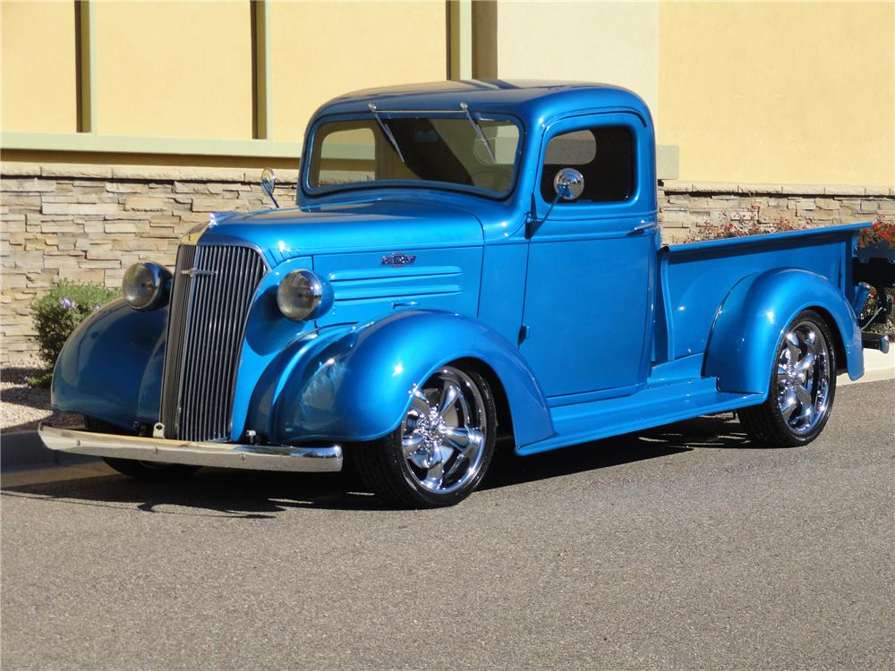 1937 Chevrolet Pickup - Information and photos - MOTcar