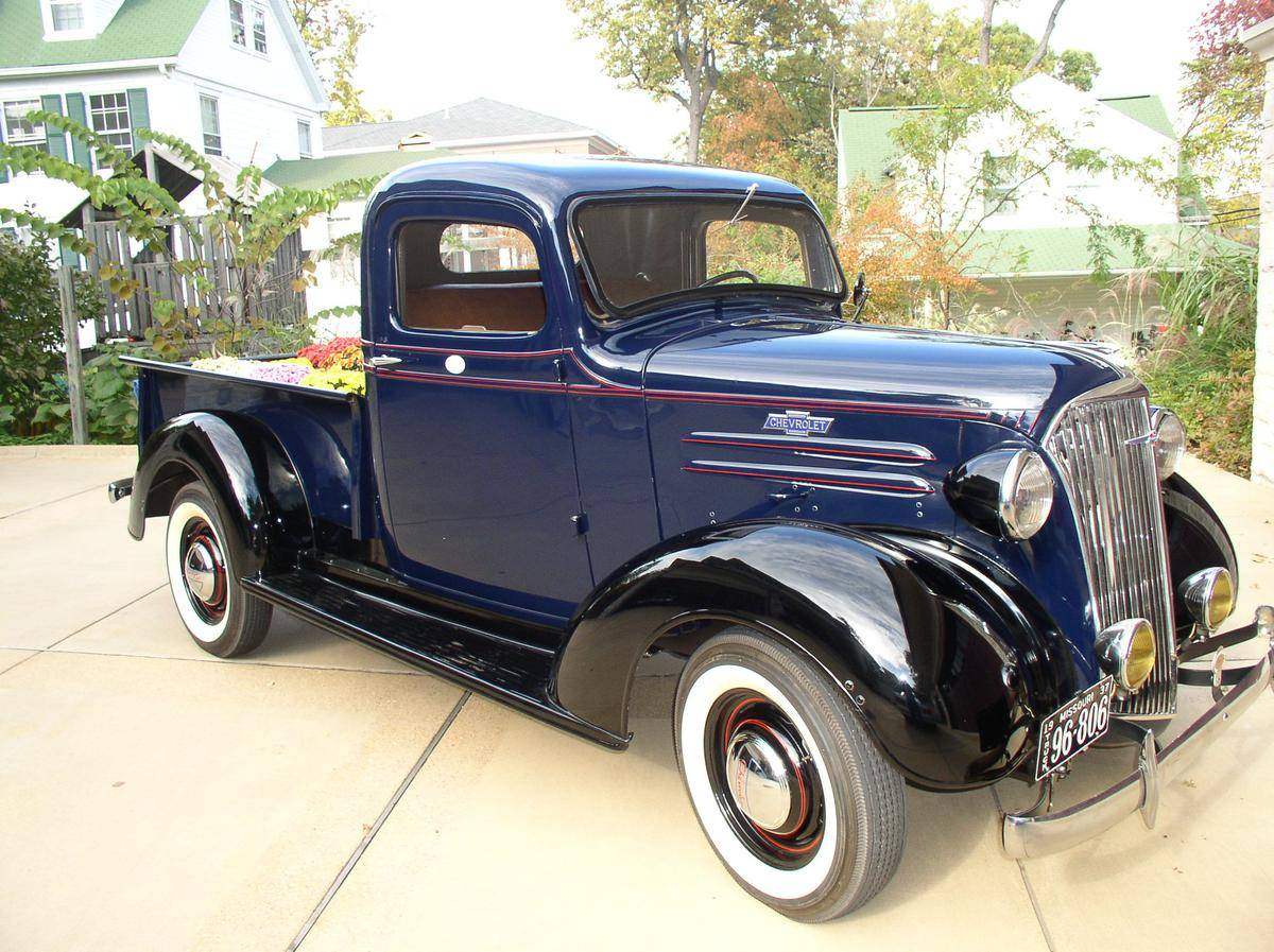 1937 Chevrolet Pickup - Information and photos - MOMENTcar