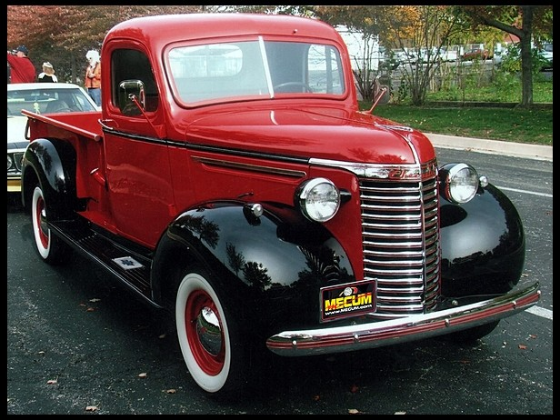 1938 Chevrolet Pickup - Information and photos - MOMENTcar