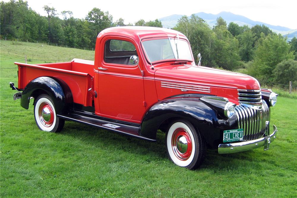 1941 Chevy truck  YouTube