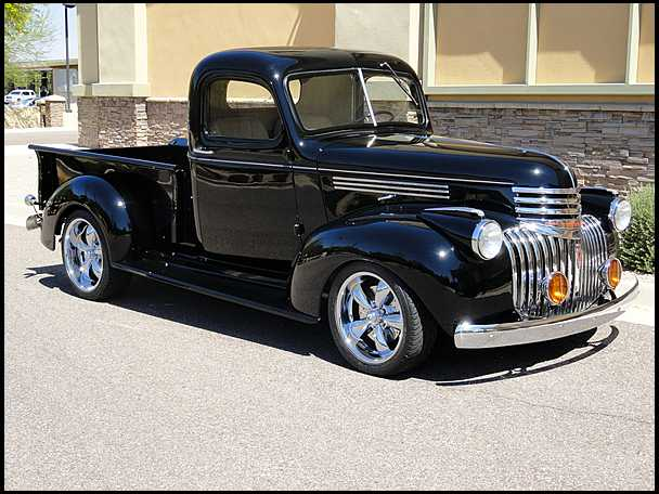 1941 Chevrolet Pickup - Information and photos - MOMENTcar