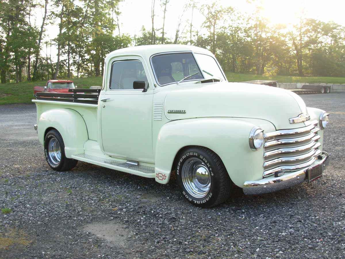 1949 Chevrolet Pickup - Information and photos - MOMENTcar