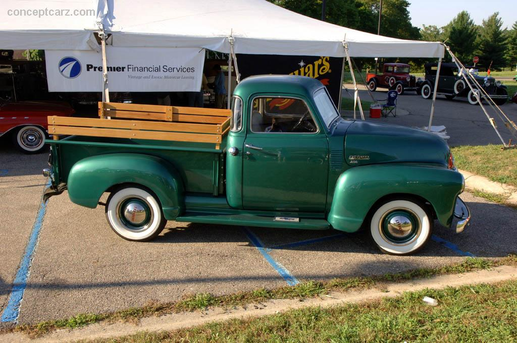 1950 Chevrolet Pickup  Information and photos  MOMENTcar