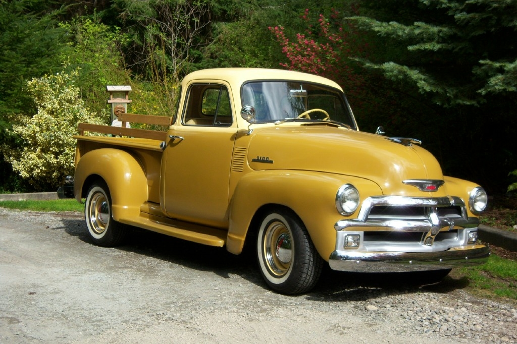 1954 Chevrolet Pickup Information And Photos Momentcar