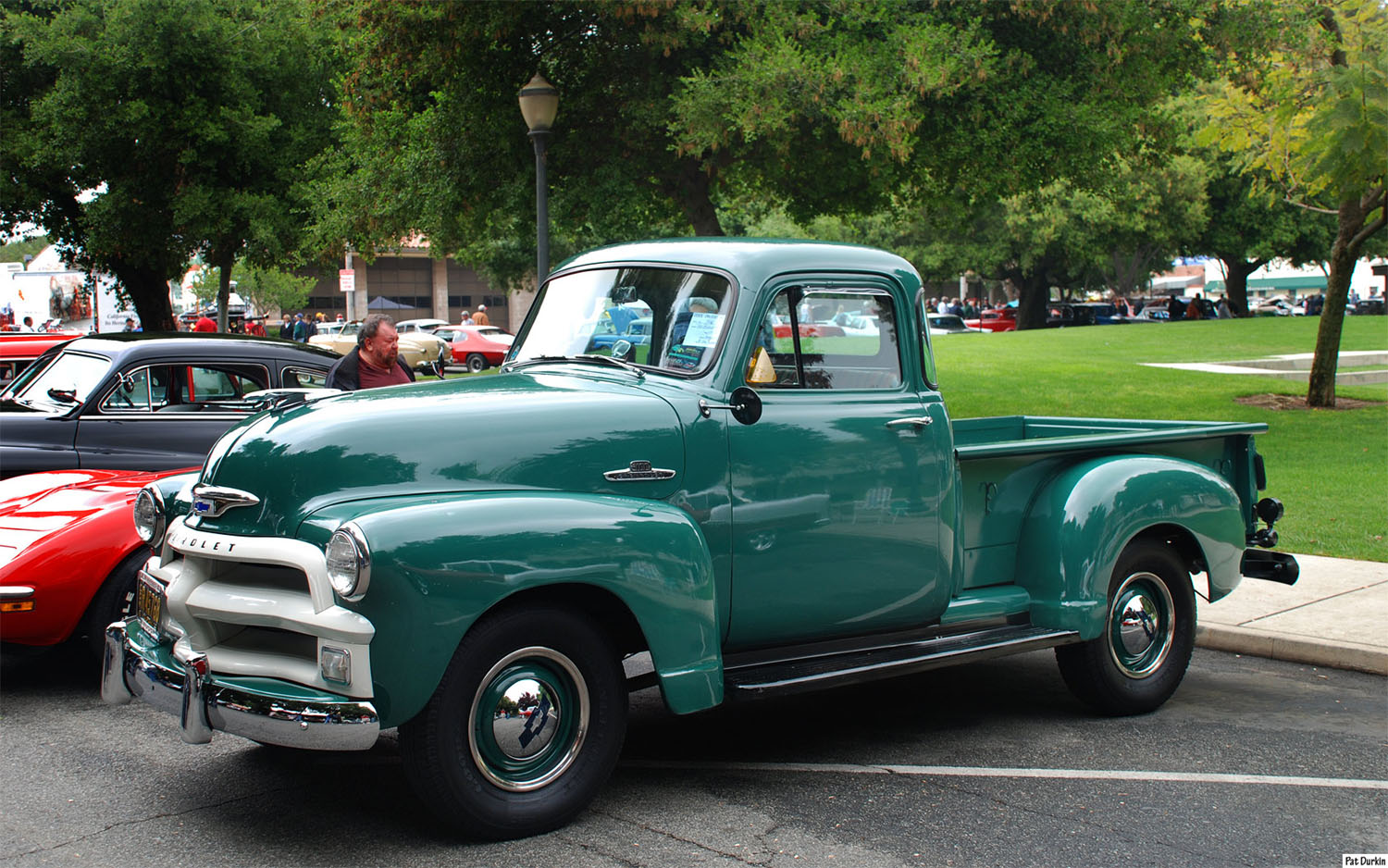 1955 Chevrolet Pickup Information And Photos Momentcar