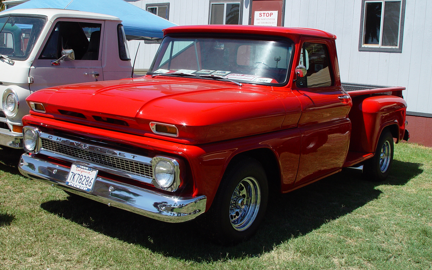 1965 Chevrolet Pickup Information And Photos Momentcar