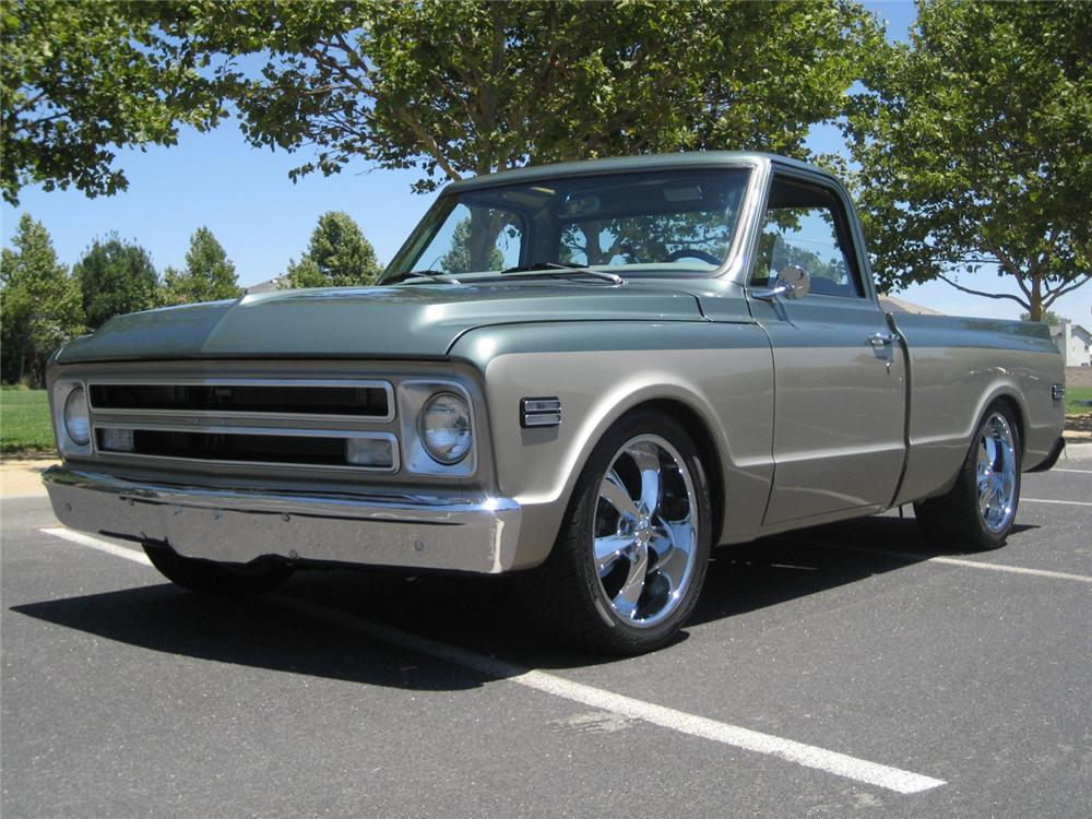 1969 Chevrolet Pickup - Information and photos - MOMENTcar