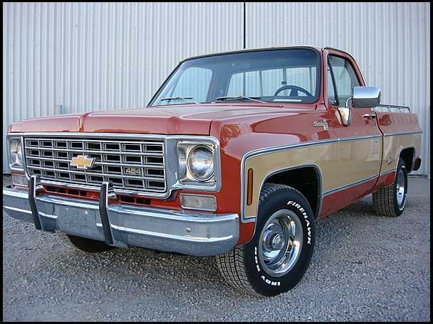 1976 Chevrolet Pickup Information And Photos Momentcar