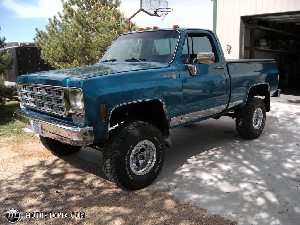 1978 Chevrolet Pickup Information And Photos Momentcar 1966 Chevy C10 Lifted 9