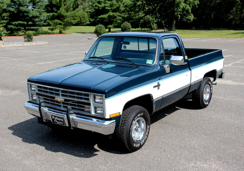 1985 Chevrolet Pickup Information And Photos Momentcar