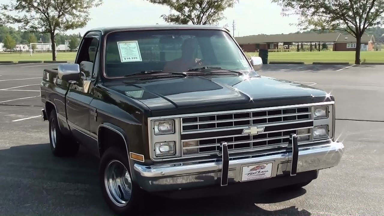 1986 Chevrolet Pickup - Information and photos - MOMENTcar