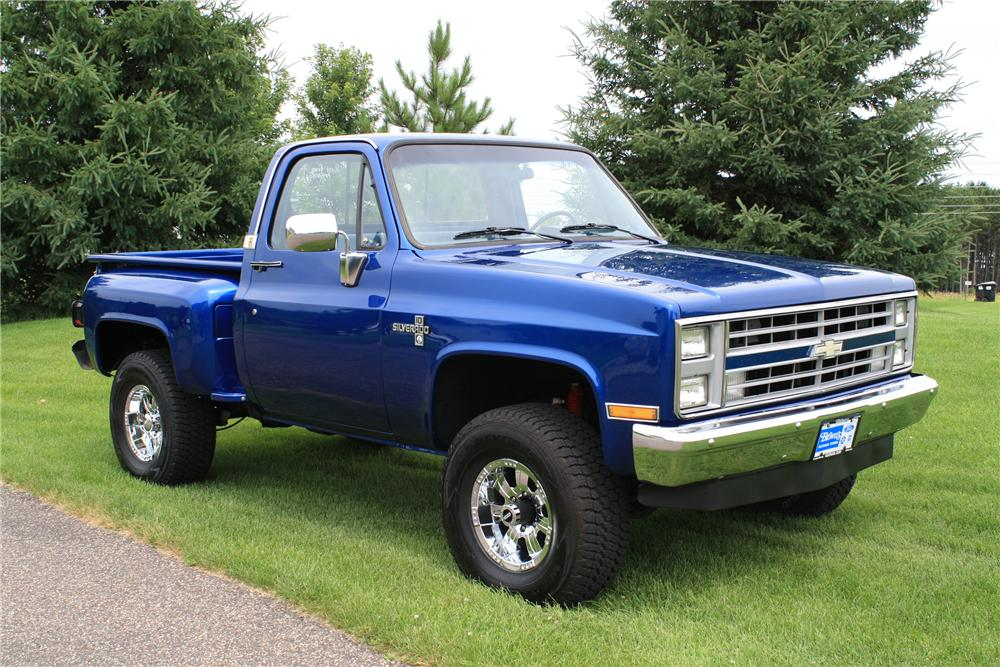1987 Chevrolet Pickup Information And Photos Momentcar