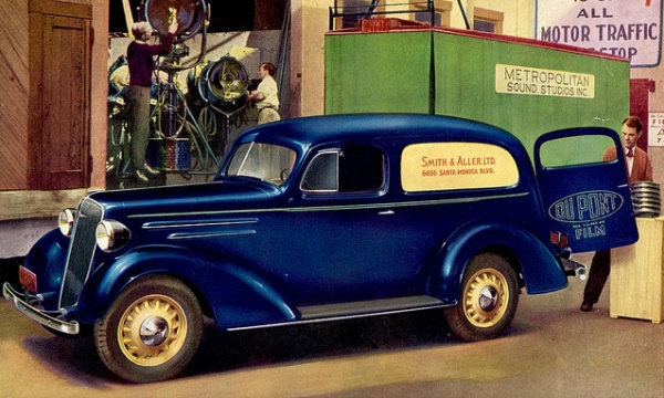 1936 Chevrolet Sedan Delivery Information And Photos