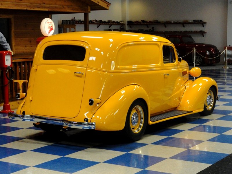 1937 Chevrolet Sedan Delivery - Information and photos ...