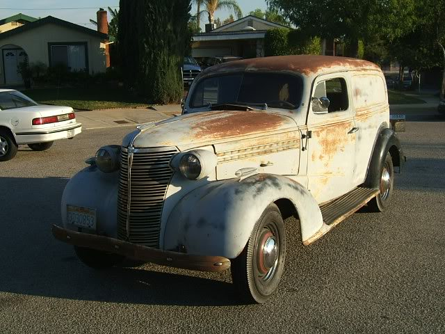 1938 Chevrolet Sedan Delivery Information And Photos Momentcar