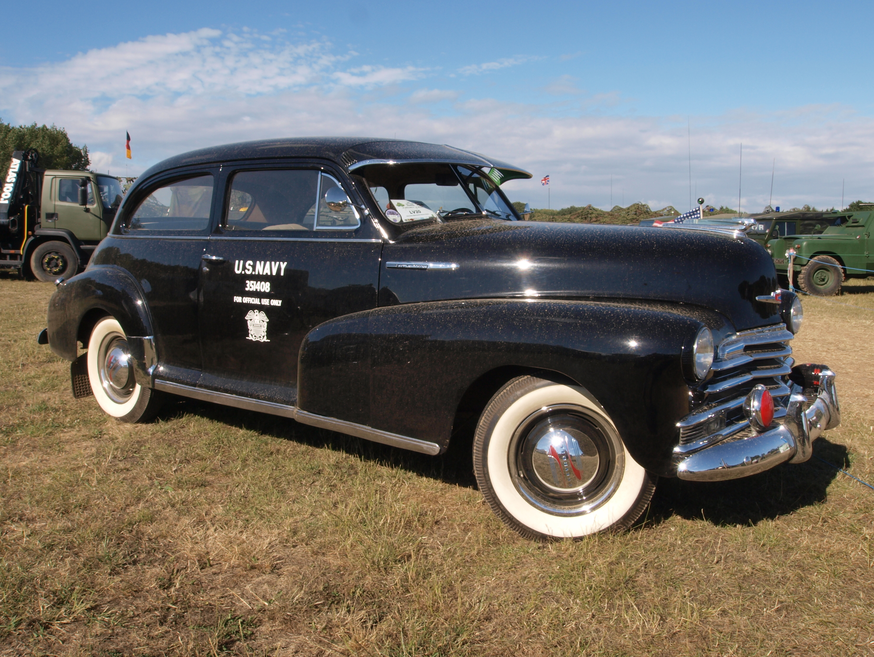 1947 style master chevy cadillac for 1946 chevy 4 door sedan