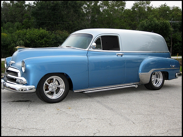 1951 Chevrolet Sedan Delivery Information And Photos Momentcar