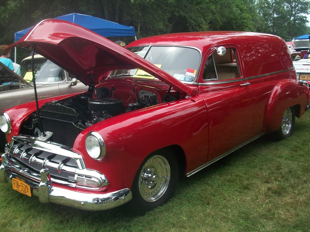 1952 Chevrolet Sedan Delivery Information And Photos Momentcar 1949 Chevy 7