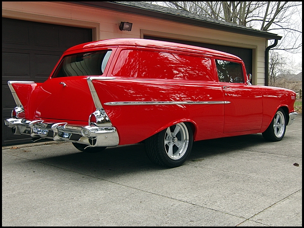 1957 Chevrolet Sedan Delivery Information And Photos