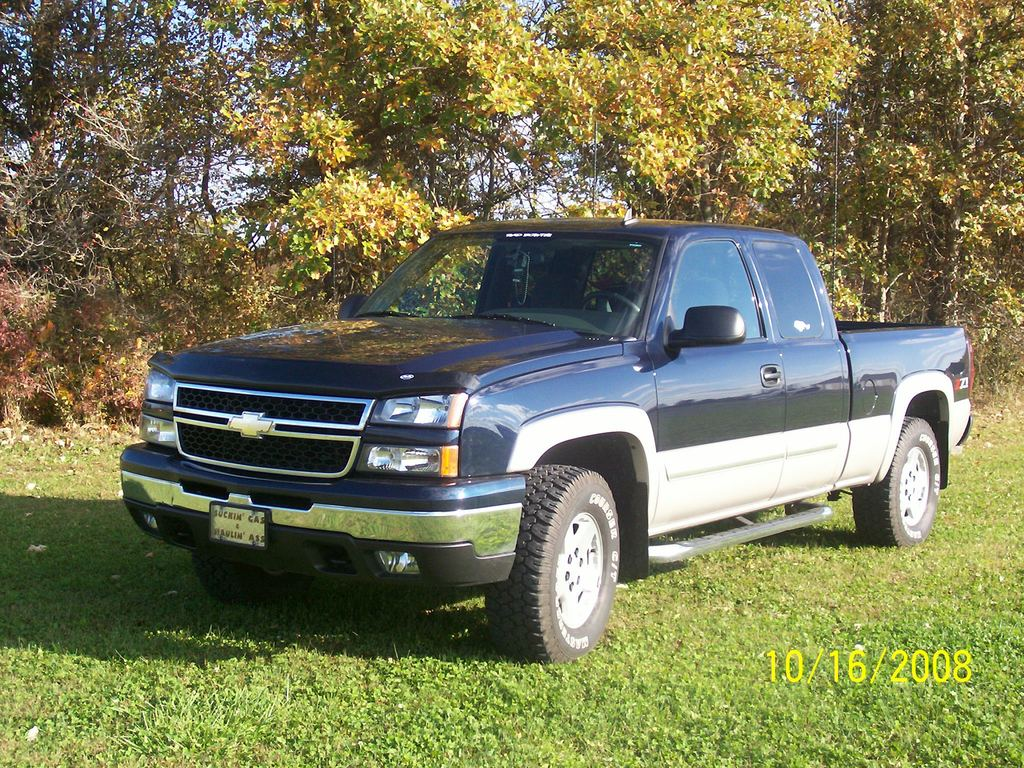 2007 chevrolet silverado 1500 classic information and photos momentcar. Black Bedroom Furniture Sets. Home Design Ideas