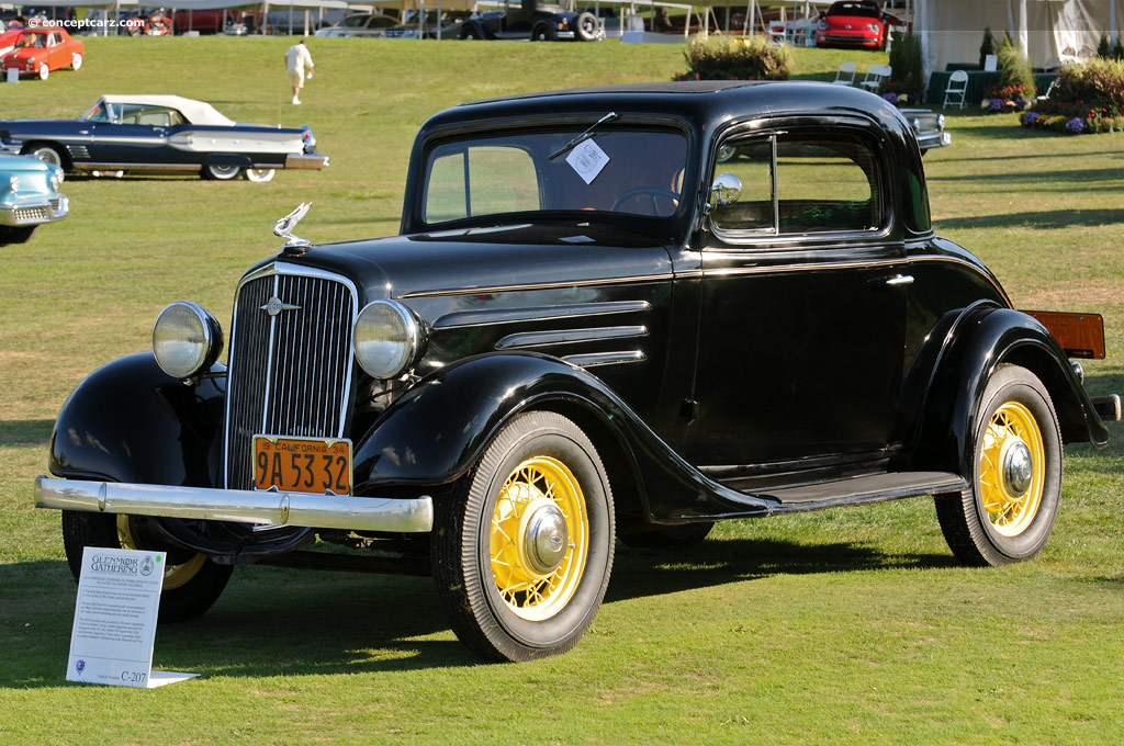 1934 Chevrolet Standard Information And Photos Momentcar