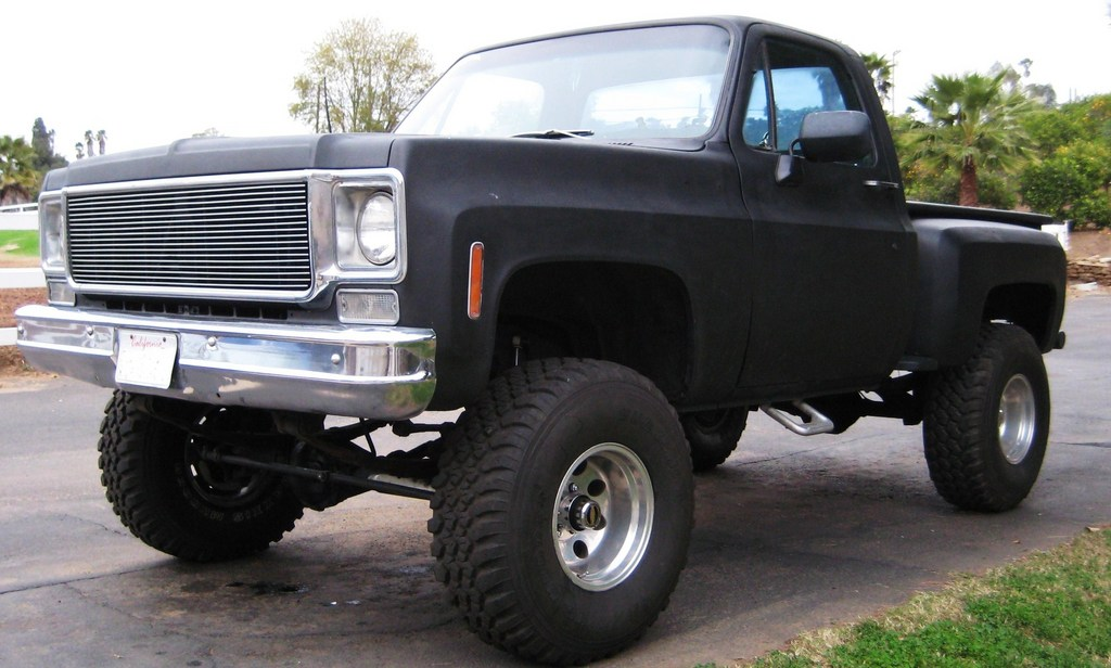1975 Chevrolet Stepside Pickup Information And Photos