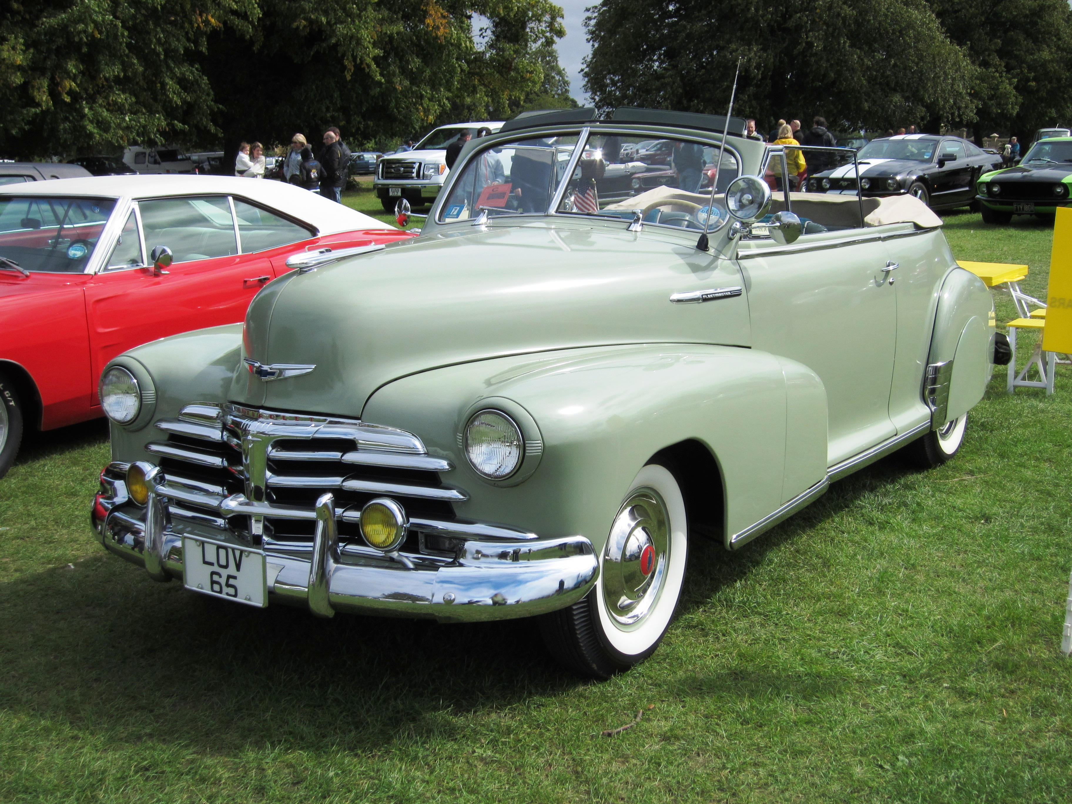 1948 Chevrolet Stylemaster Information And Photos