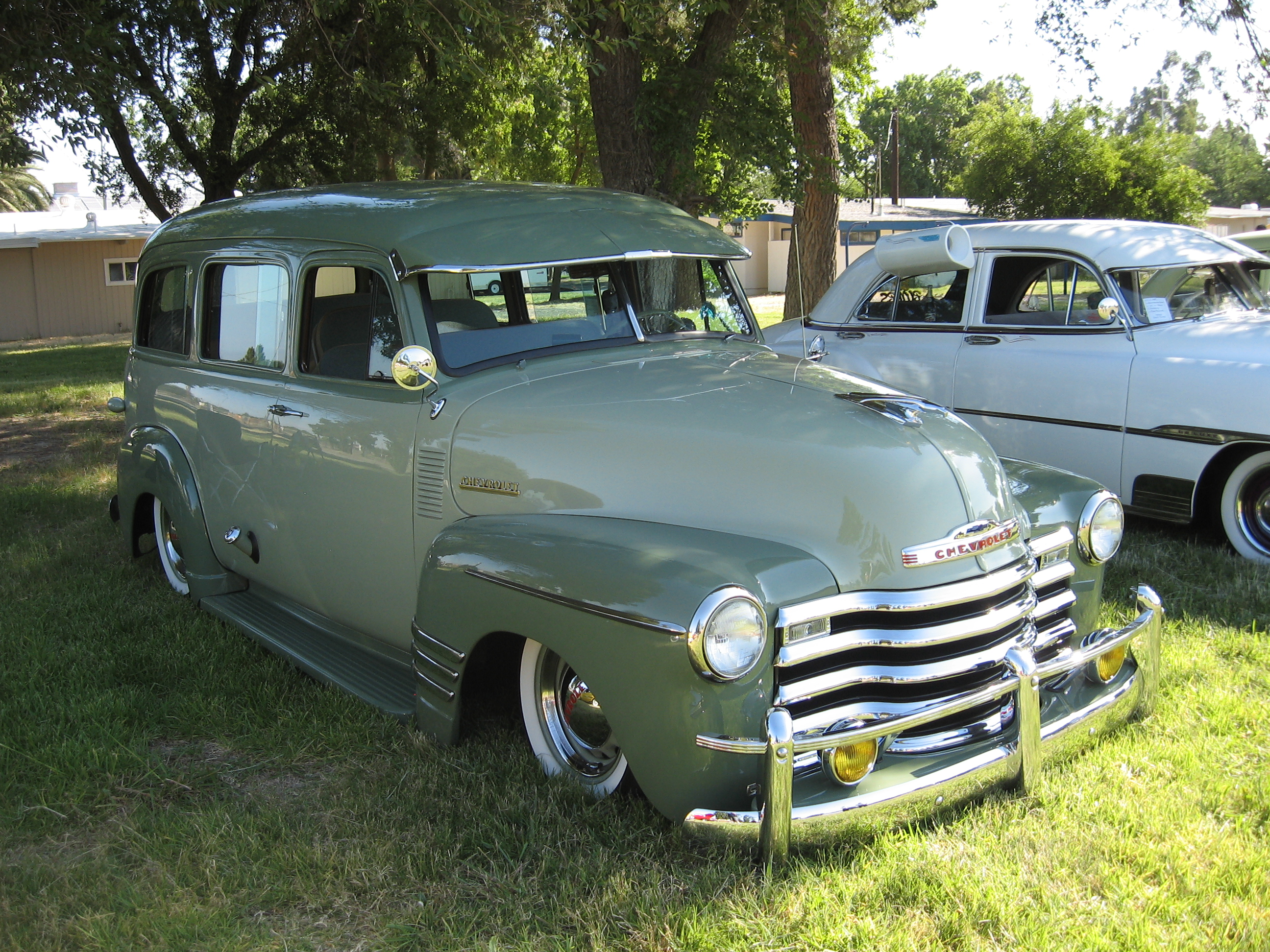 1950 Chevrolet Suburban Information And Photos Momentcar