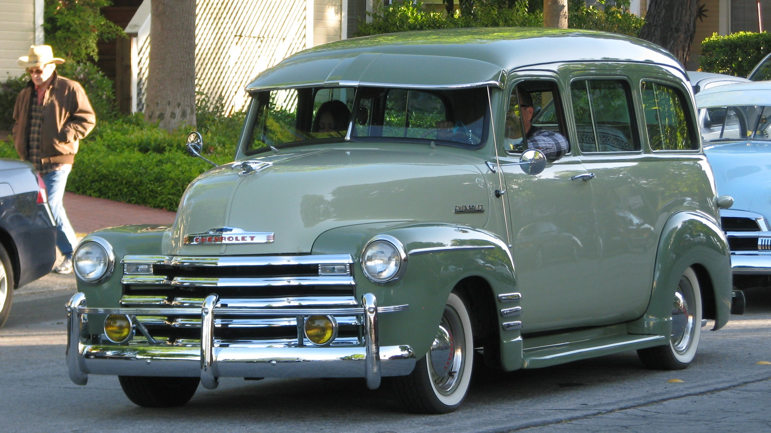 1952 Chevrolet Suburban Information And Photos Momentcar