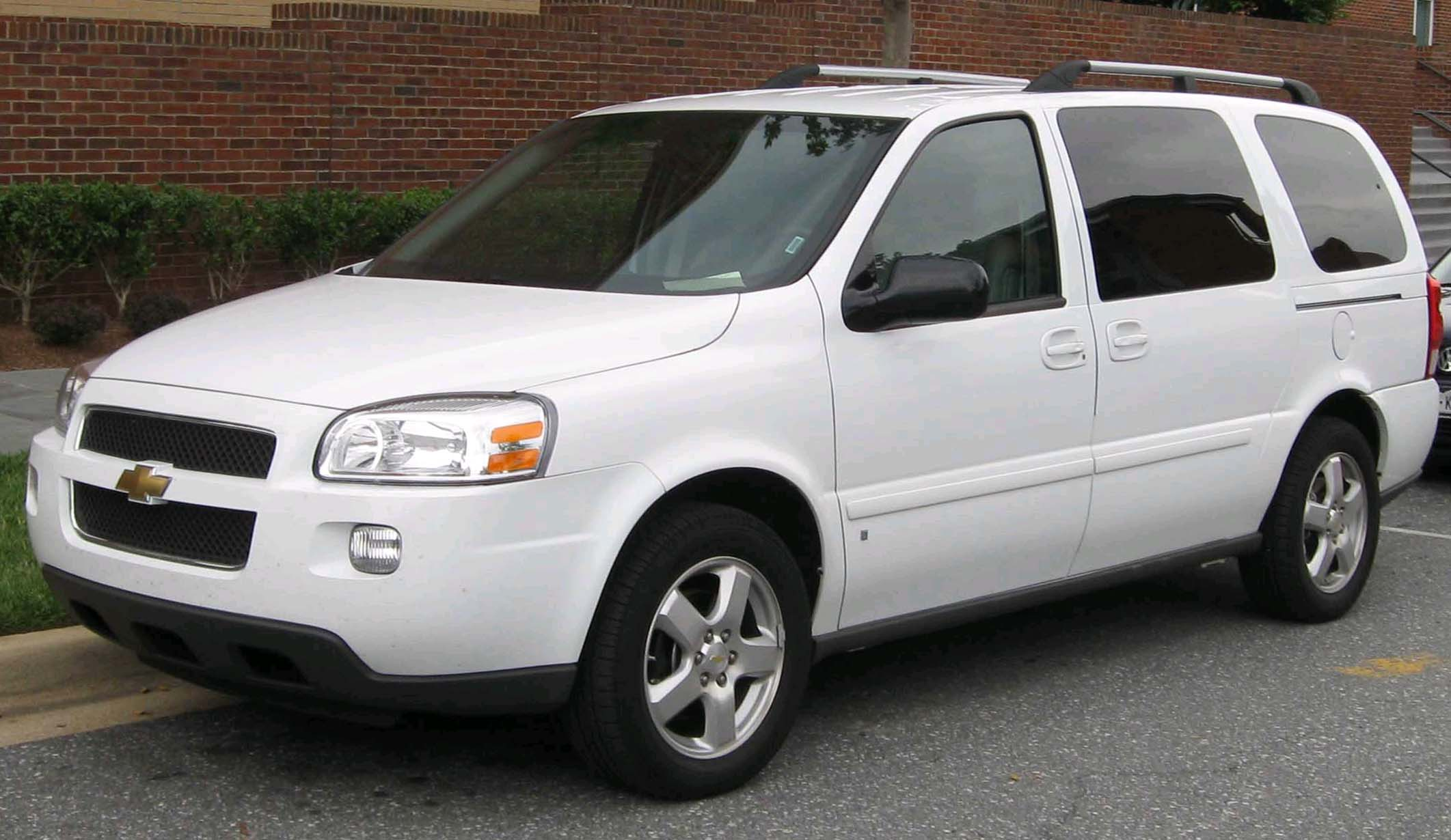 2008 Chevrolet Uplander Information And Photos Momentcar