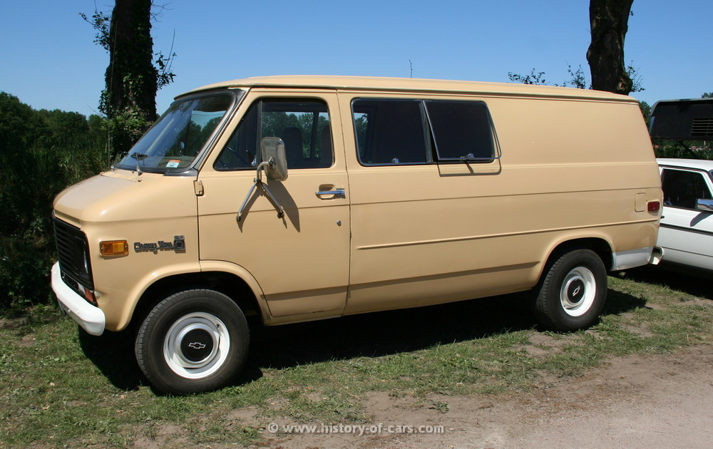 1972 Chevrolet Van - Information and photos - MOMENTcar