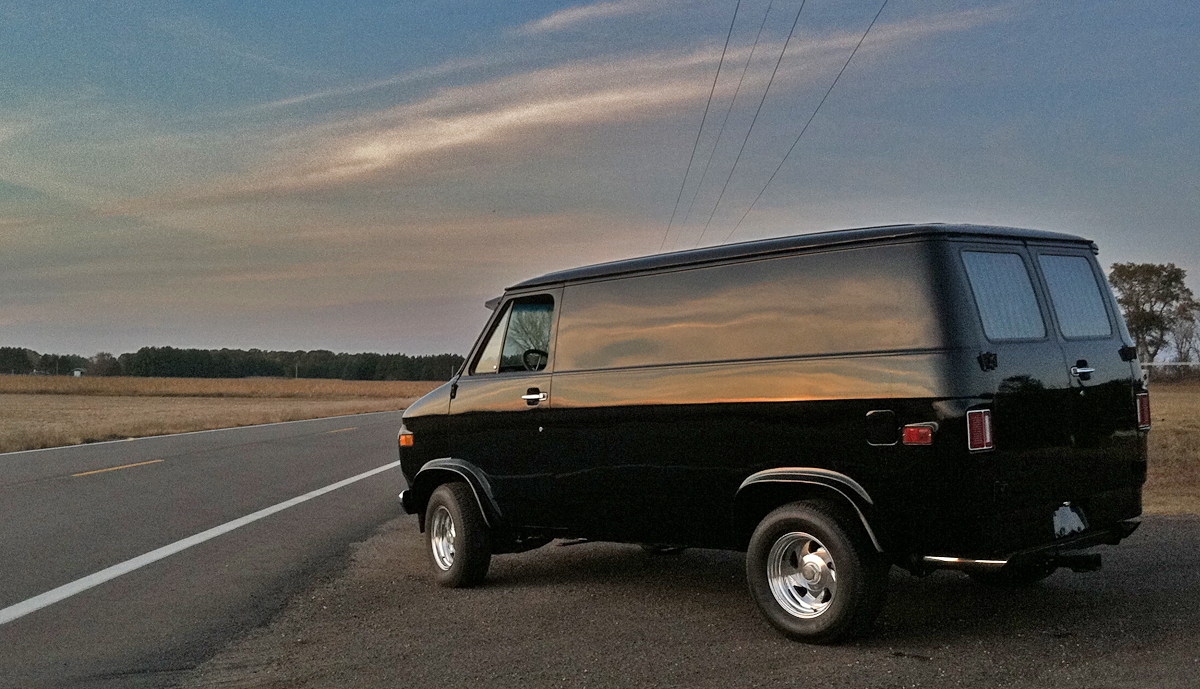 1975 Chevrolet Van Information And Photos Momentcar Datsun Radio Wiring 5
