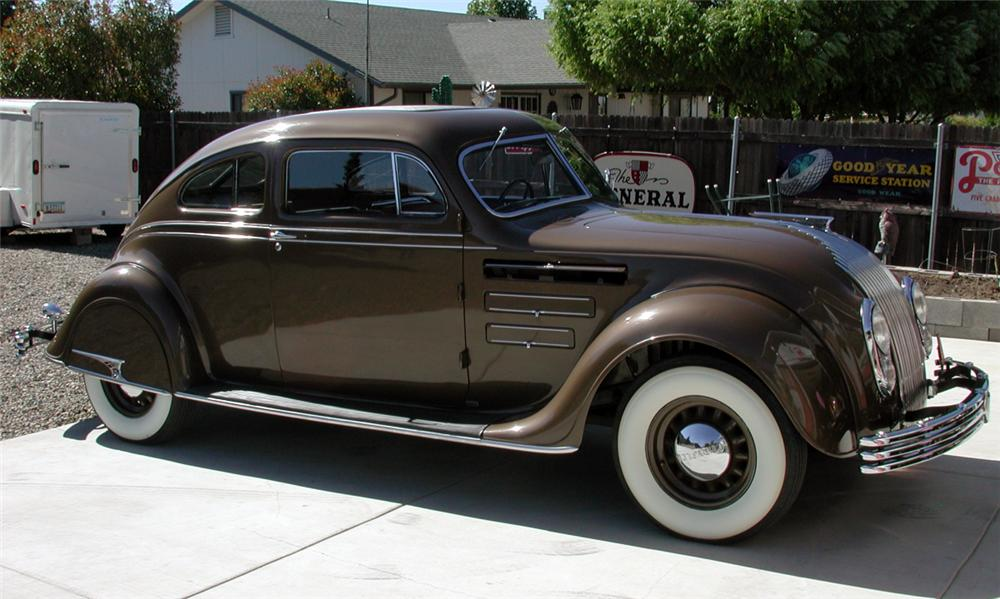 1934 Chrysler Airflow Information And Photos Momentcar