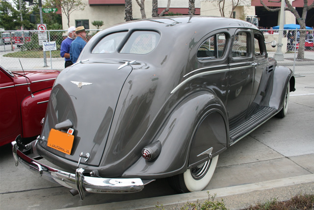 1936 Chrysler Airflow - Information And Photos