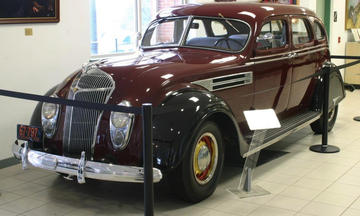 1936 Chrysler Airflow Information And Photos Momentcar