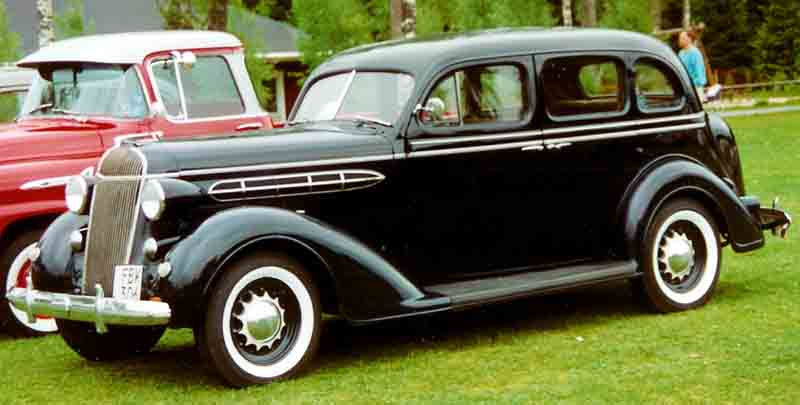 1936 chrysler airstream information and photos momentcar for 1936 dodge 4 door sedan