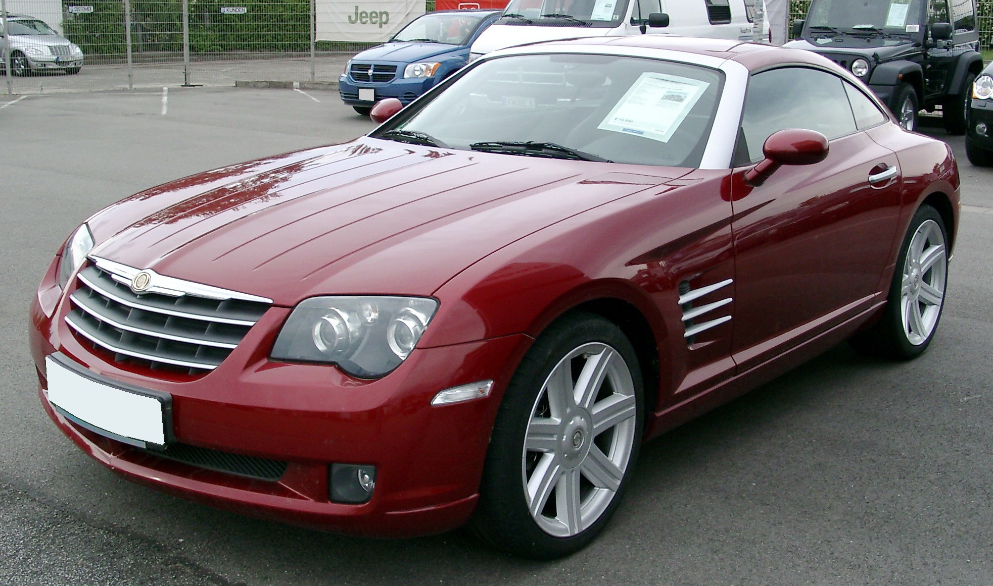 chrysler old concept crossfire buick cars