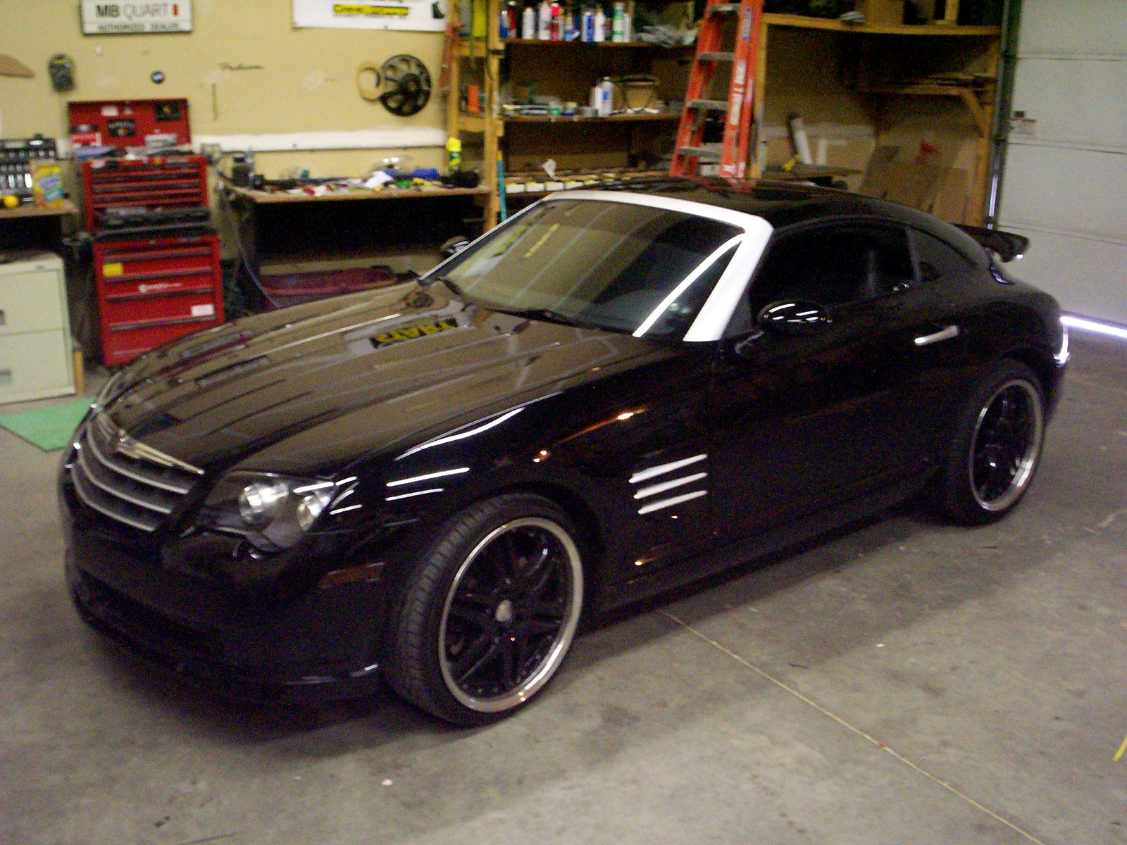 chrysler crossfire information and photos momentcar. Black Bedroom Furniture Sets. Home Design Ideas