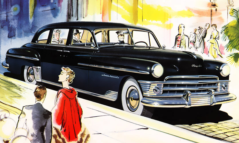 Crown Chrysler Dodge Jeep Ram >> 1950 Chrysler Crown Imperial - Information and photos - MOMENTcar