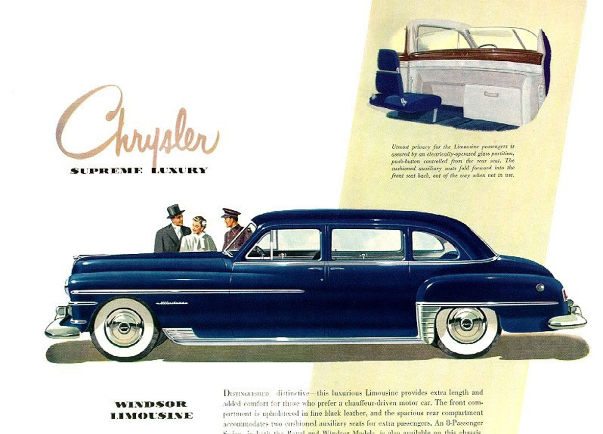 1950 chrysler crown imperial   information and photos   momentcar