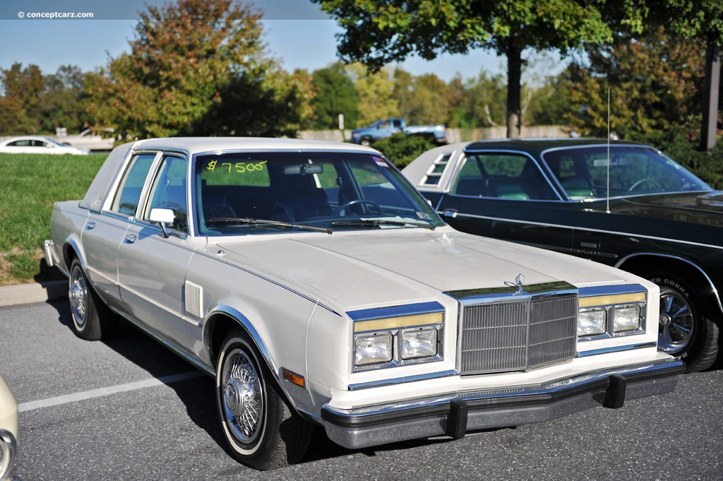 1987 Chrysler Fifth Avenue Information And Photos