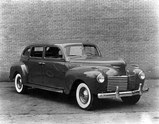 Chrysler Imperial on Renault 1940 Cars