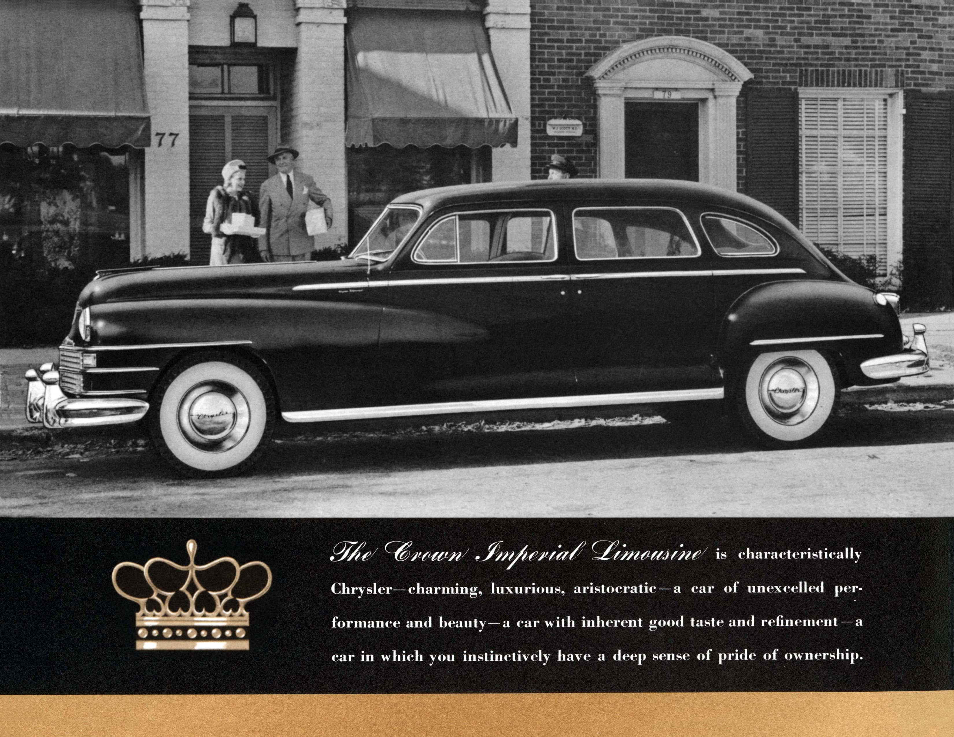 1948 Chrysler Imperial Information And Photos Momentcar 1949 Crown 1