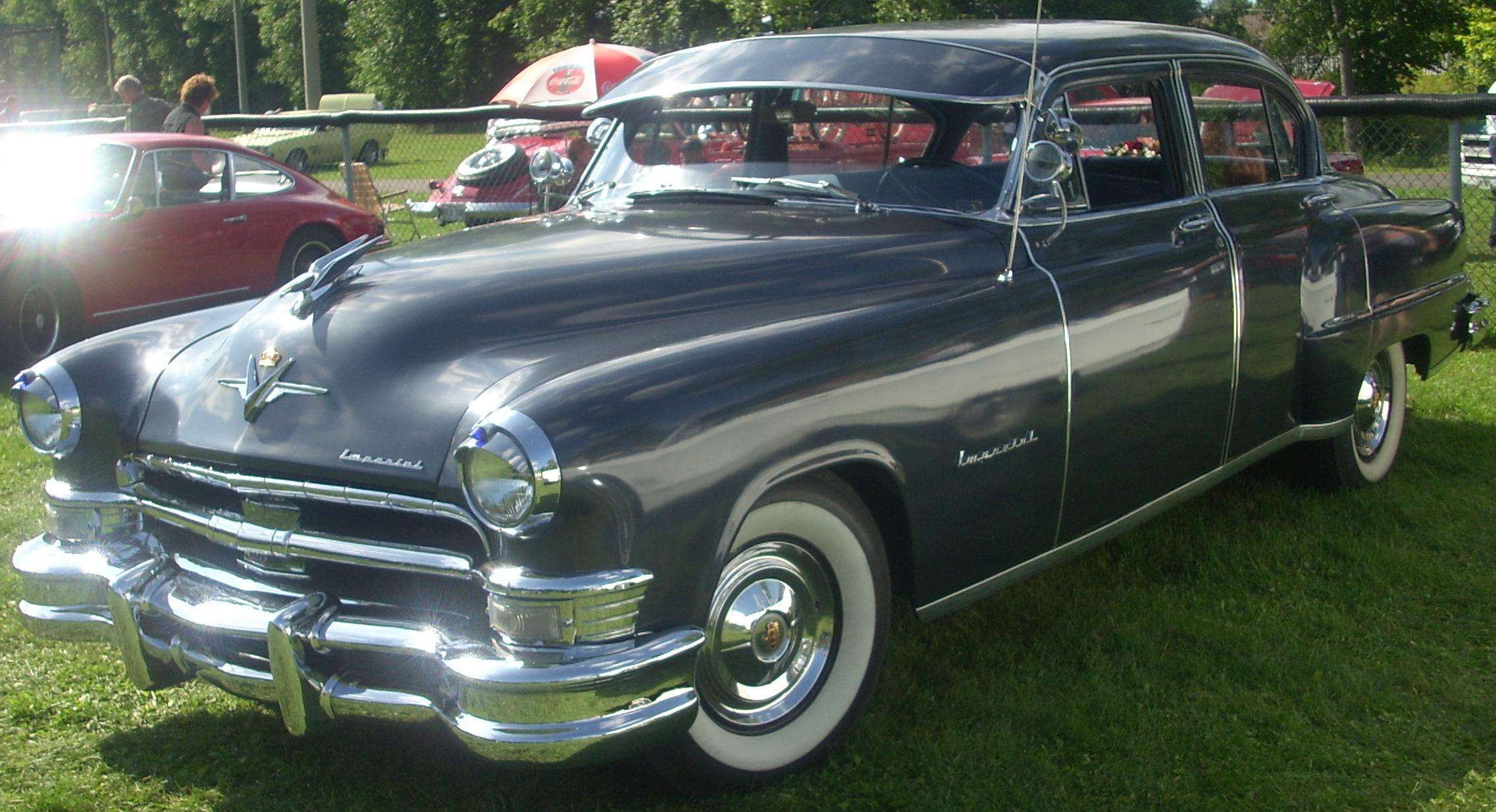 1954 chrysler imperial - information and photos
