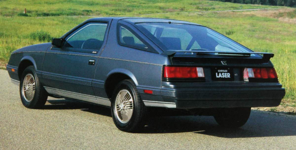Chrysler Laser 1986 #6