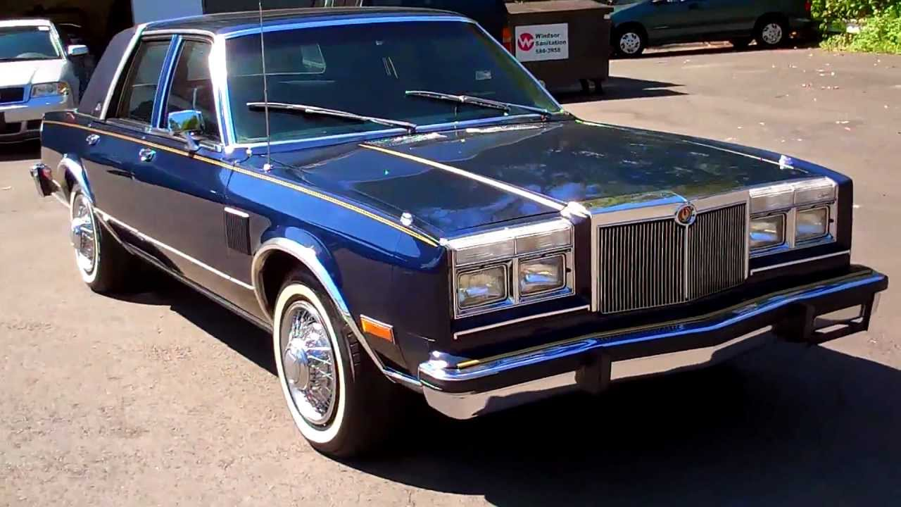 1980 Chrysler Lebaron Information And Photos Momentcar