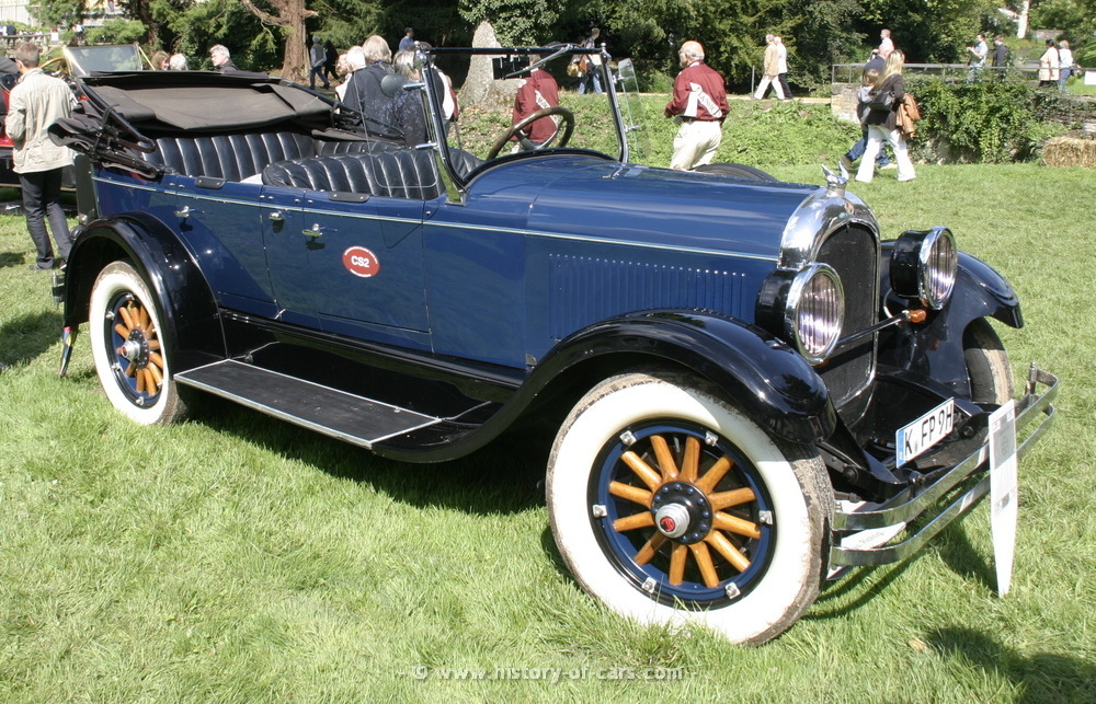 1925 chrysler model b-70 - information and photos